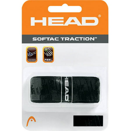 HEAD SoftTac Traction Replacement Grip, Black