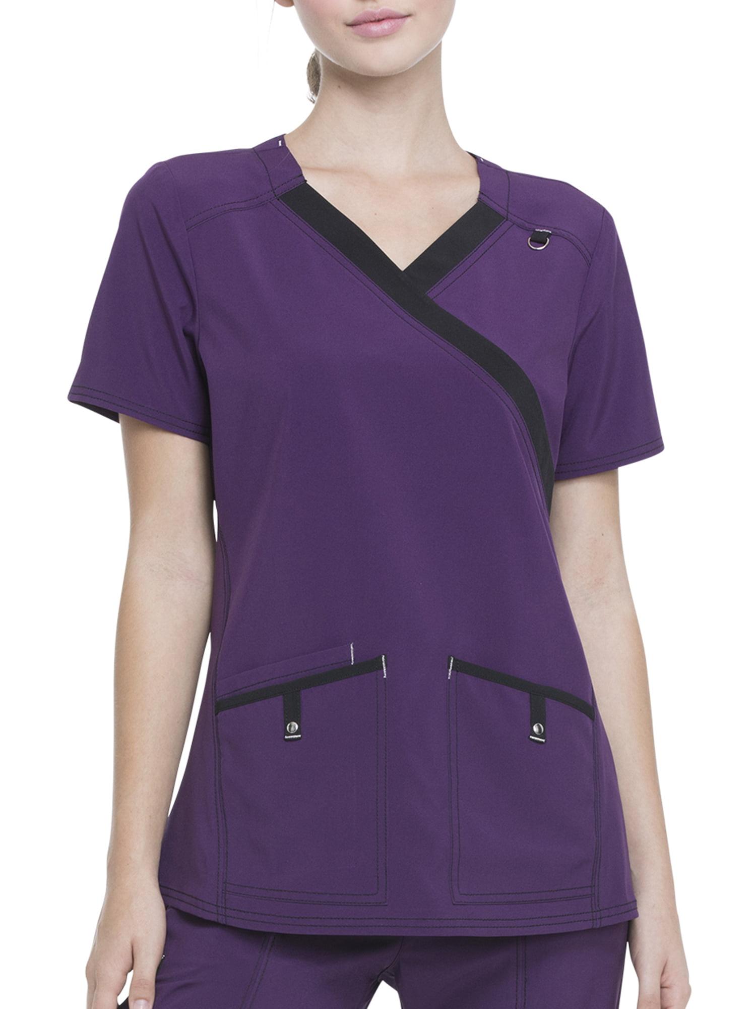 a93a18ce747 Scrubstar Women's Fashion Collection 4-Way Stretch Scrub Top ...