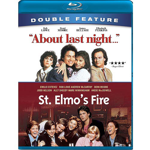 About Last Night... / St. Elmo's Fire (Blu-ray) (Widescreen)