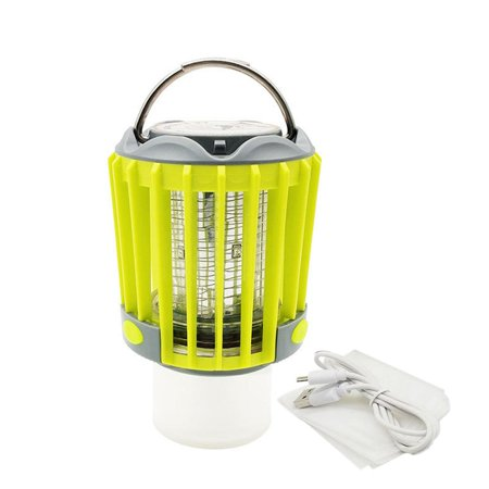 Compact Outdoor Electric Mosquito er Trap Lamp Night Light Fly Bug Lamp - image 2 of 6