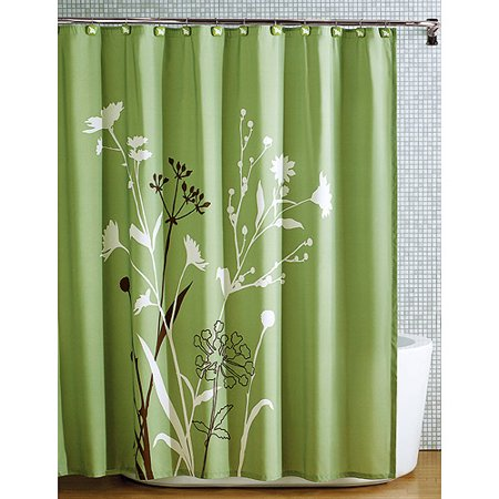 hometrends marmon shower curtain, 1 each - walmart