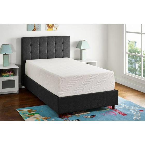 mainstays 12 memory foam mattress certipur us certified foam multiple sizes. Black Bedroom Furniture Sets. Home Design Ideas