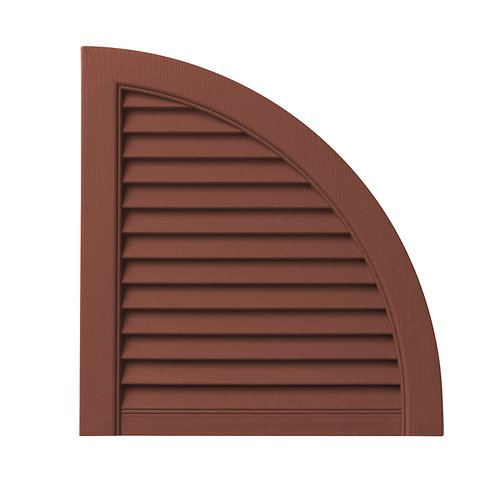 Ply Gem Open Louvered Arch Top (Set of 2)