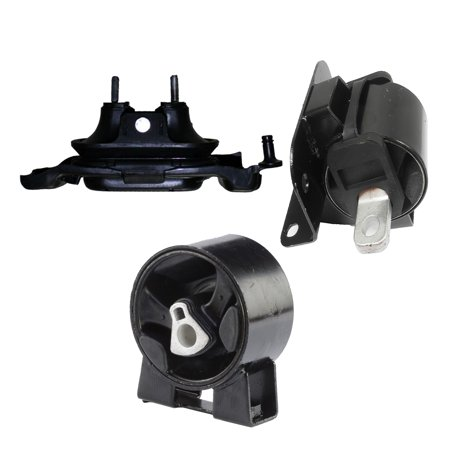 CF Advance For 08-10 Chrysler Town & Country Dodge Grand Caravan Volkswagen Routan 3.3L 3.8L Front Right and Front Engine Motor and Transmission Mount Set of 3PCS A5480 A5654 A5493 2008 2009