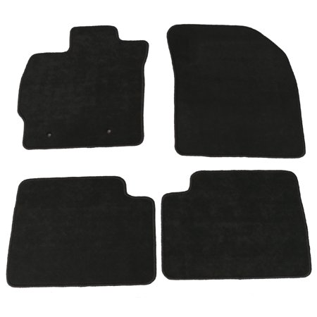 Fits 08-15 Scion xB Floor Mats Carpet Front & Rear Gray 4PC - (Gray Carpet Floor Mats)