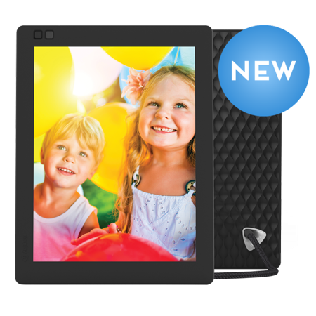 Nixplay Seed Ultra WiFi 10 Inch Digital Picture Frame with a High Definition 2K Resolution, iPhone & Android App, Free 10GB Online Storage and Motion Sensor