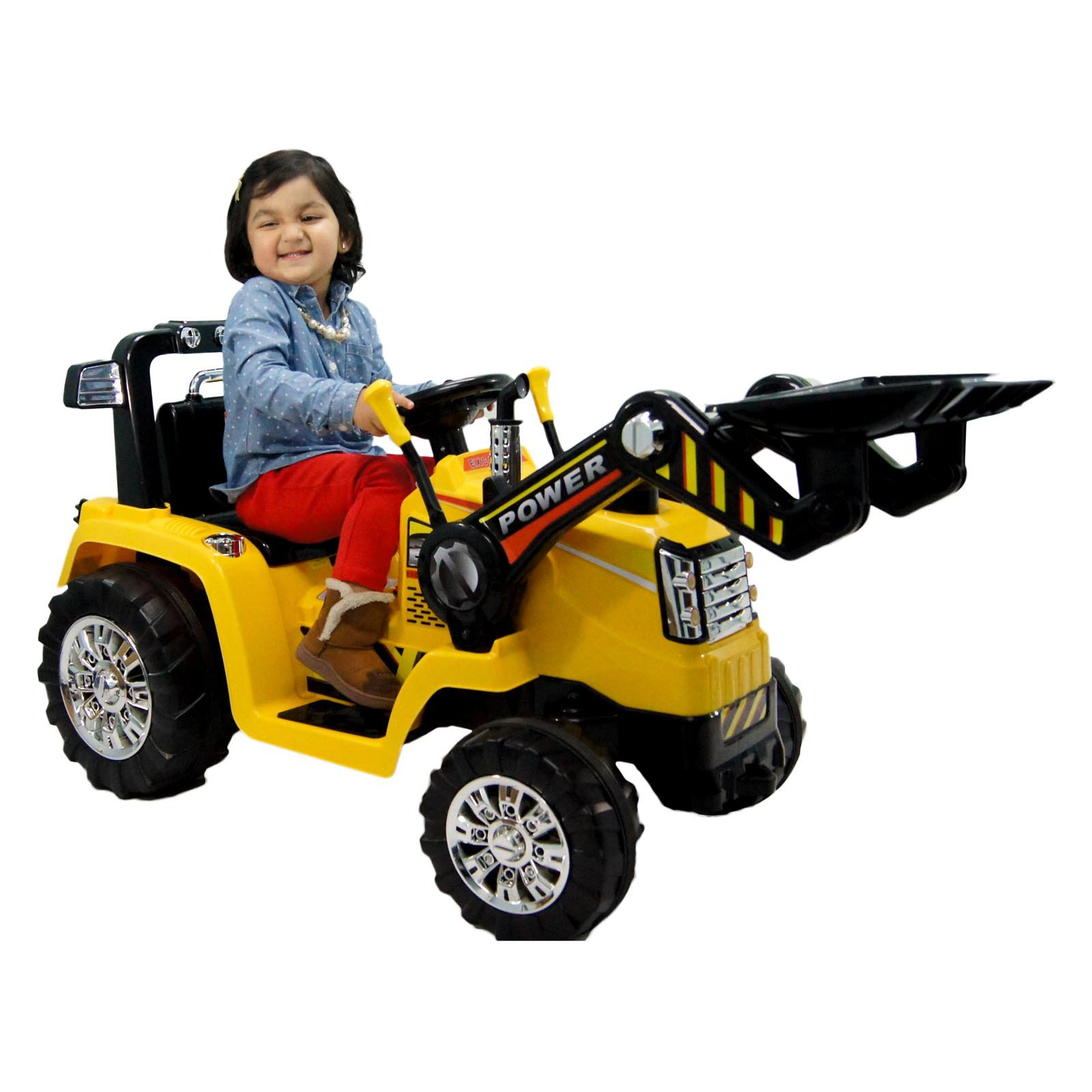 Best Ride on Cars 12V Battery Powered Ride On Tractor by Overstock