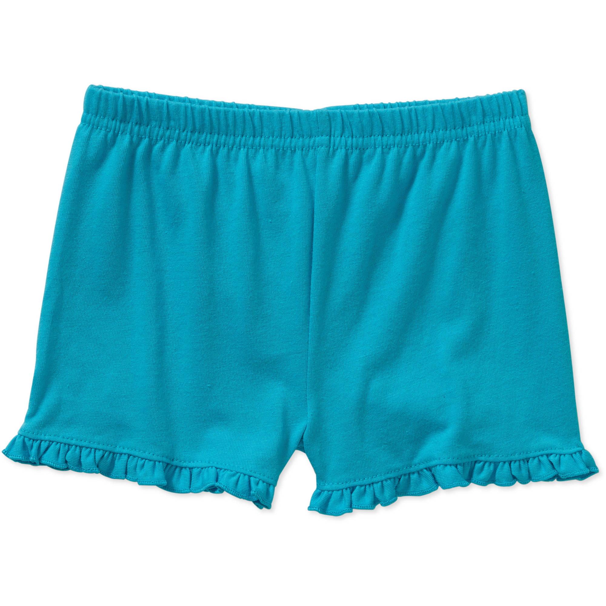 Garanimals Newborn Baby Girl Solid Ruffle Shorts