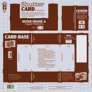 Hot Off The Press Template, Shutter Card