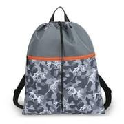 Camo Dinosaurs Drawstring Bag