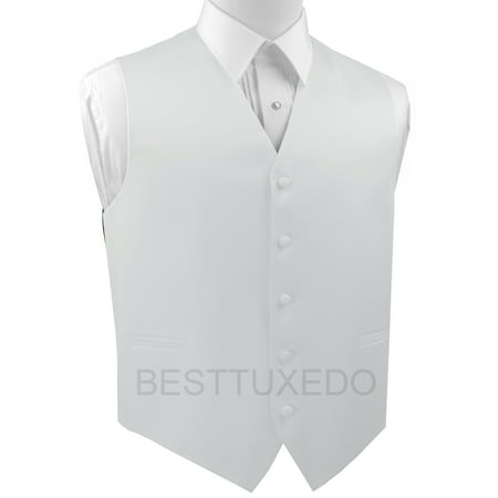 Italian Design, Men's Formal Tuxedo Vest for Prom, Wedding, Cruise , in White](Lloyd Tuxedo)