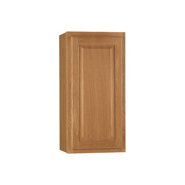 Rsi Home Products Hamilton Kitchen Wall Cabinet Fully Assembled Raised Panel Oak 15x30x12 In 2478227 Walmart Com Walmart Com