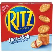 RITZ Hint of Salt Crackers, 13.7 oz