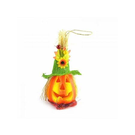 MarinaVida Halloween Small Night Light Hollow Glowing Pumpkin Shape LED
