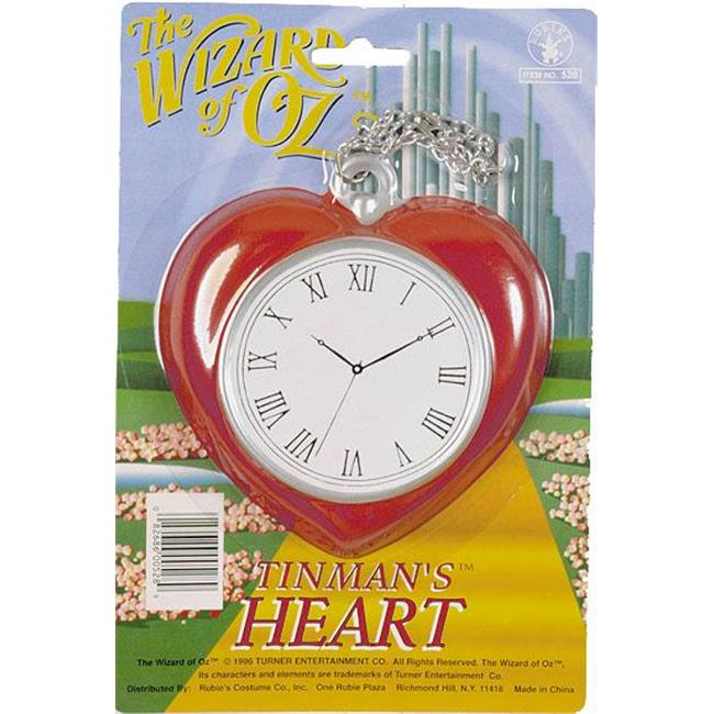 Costumes For All Occasions Va522 Heart Clock