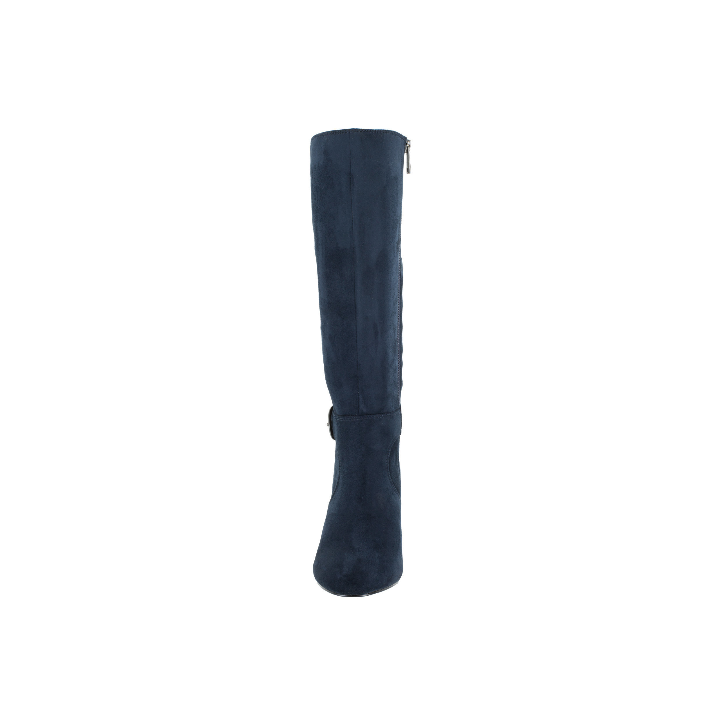 Bella Vita Women's Toni II Plus Navy Super Suede Tall Wide Calf Boot by Overstock