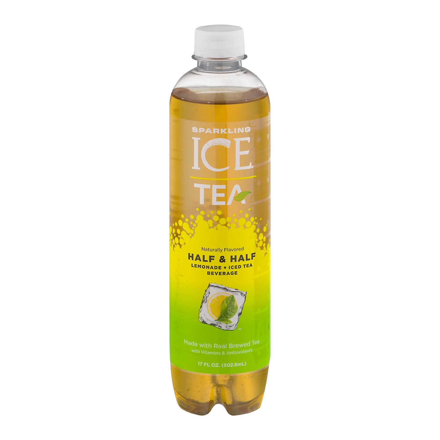 Sparkling Ice Zero Calories Half & Half Lemonade + Iced..