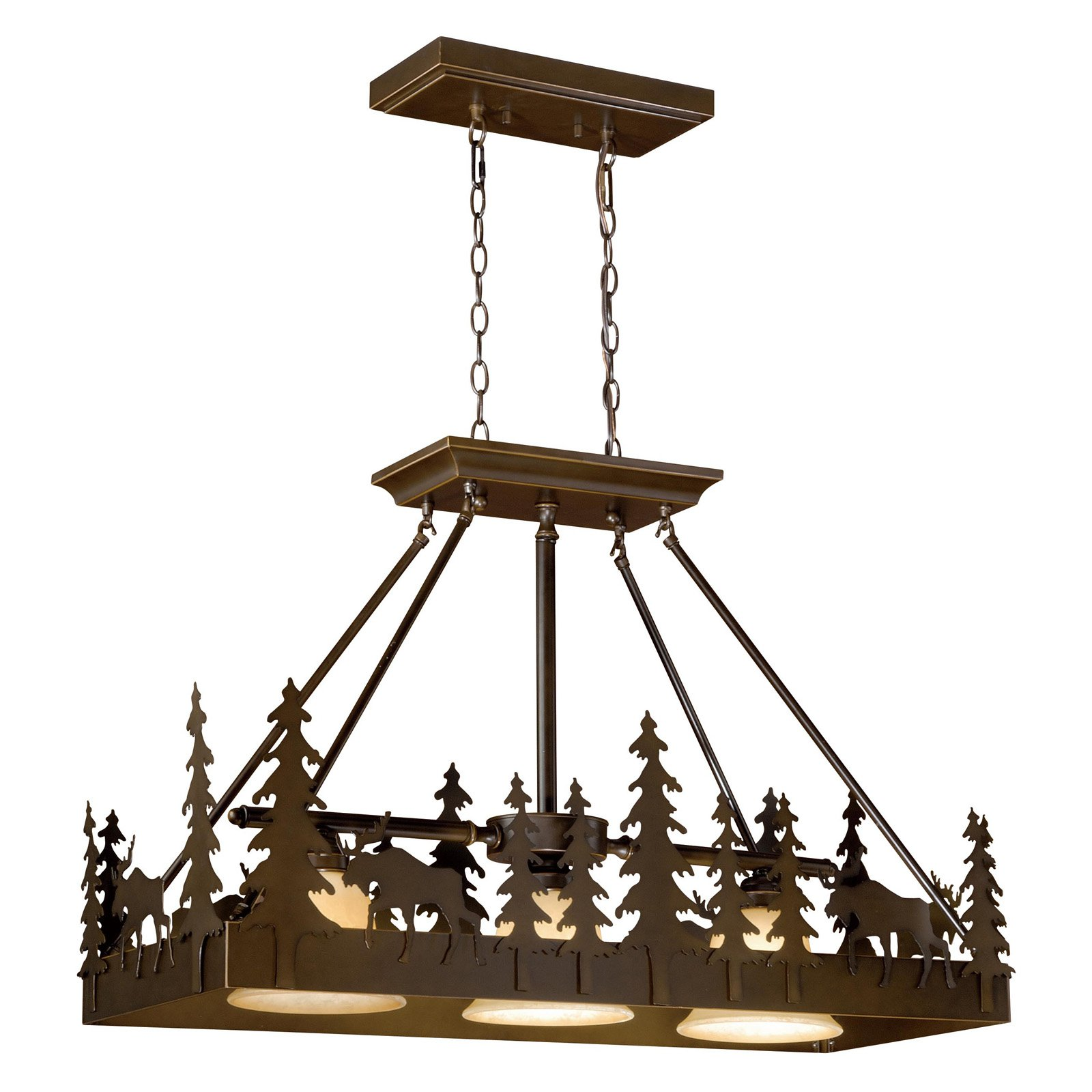 Vaxcel Yellowstone PD55636BBZ Chandelier