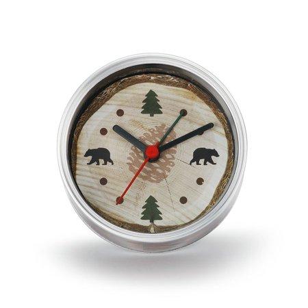 Demdaco Man Gear 3005051108 Big Sky Carvers Lodge Clock-n-Can