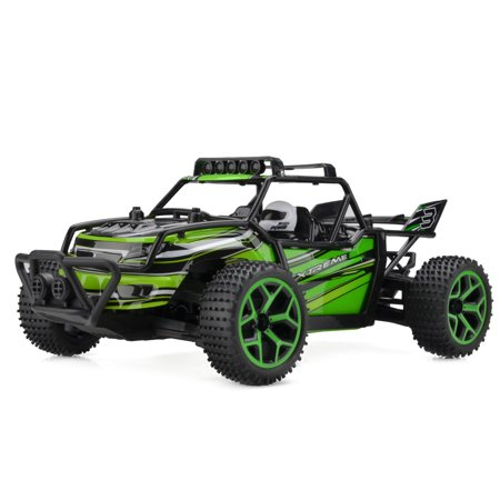 1 18 Scale Electric Rc Car Off Road Truck 2 4Ghz 4Wd High Speed Buggy Vehicle