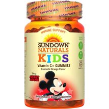Vitamins & Supplements: Sundown Naturals Kids Vitamin C Gummies