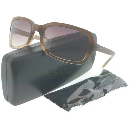 Ralph Lauren RA5012-51813 Women's Honey Frame Light Brown Lens Sunglasses NWT ()