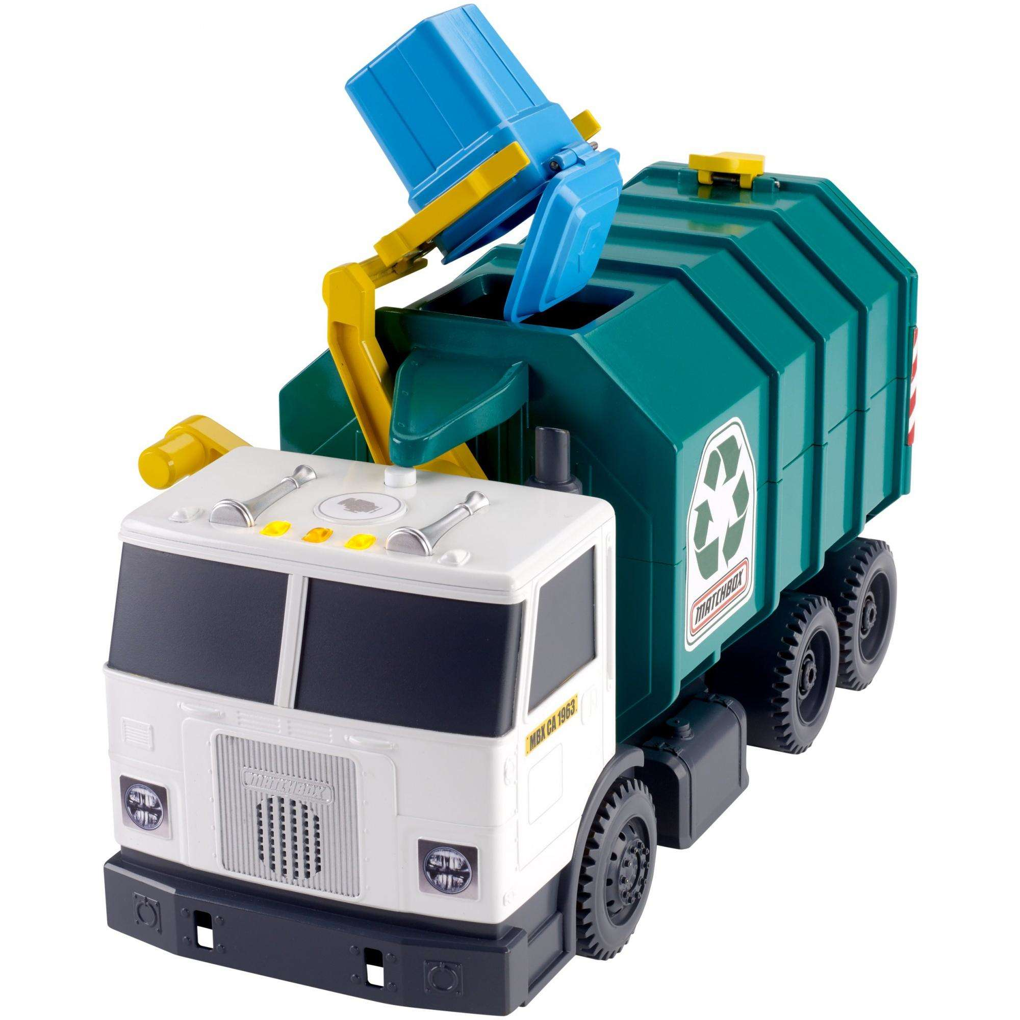 Matchbox Garbage Truck Large by Mattel