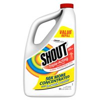 Shout Triple-Acting Refill, Laundry Stain Remover, 60 Ounce