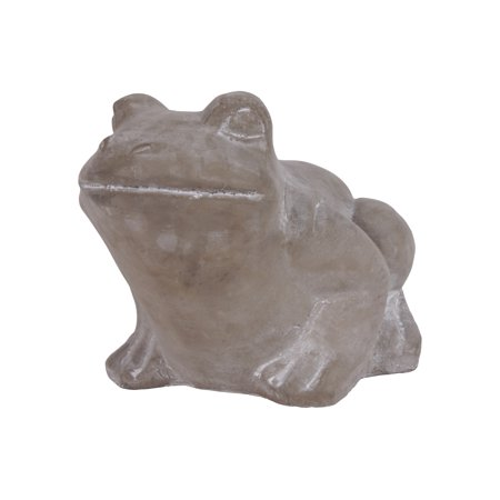 Urban Trends Collection: Cement Frog FigurineConcrete Finish (Finished Frog)