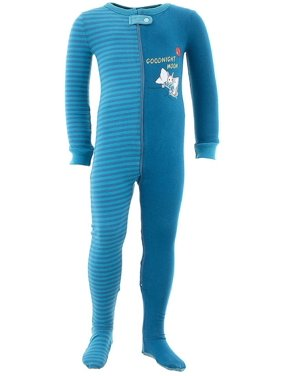 Goodnight Moon Infant Toddler Girls Cotton Footed Pajamas
