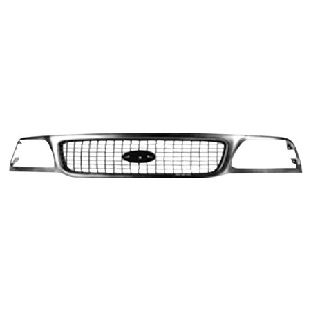 (CPP Chrome Grill Assembly for 1999-2002 Ford Expedition Grille FO1200377)