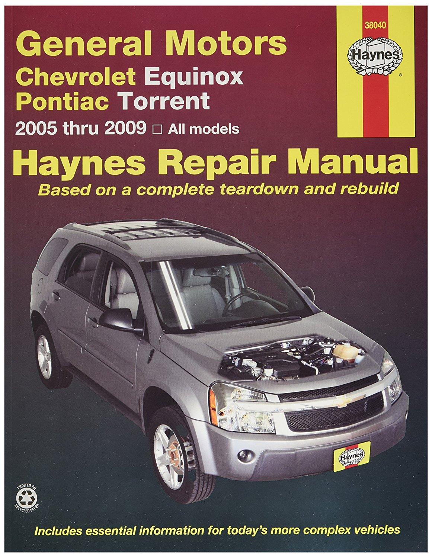 Chevrolet Equinox & Pontiac Torrent, 05-09 (38040) By Haynes Repair Manuals  - Walmart.com