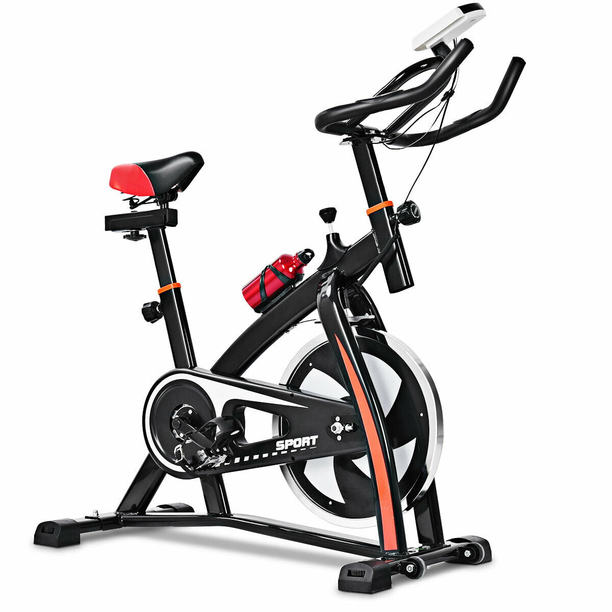 Costway Exercise Cycling Cardio Adjustable Gym Workout Bike
