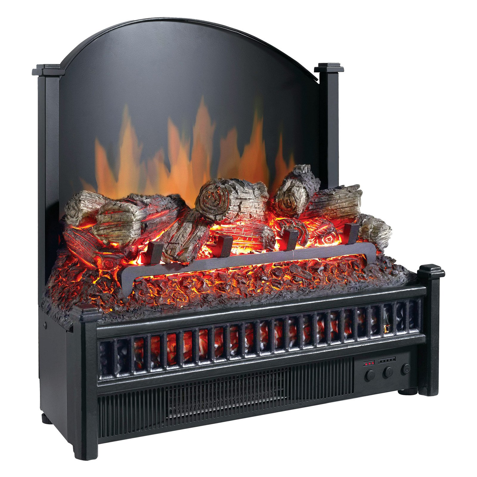 Pleasant Hearth Electric Log Insert with Heater, LI-24 - Walmart.com