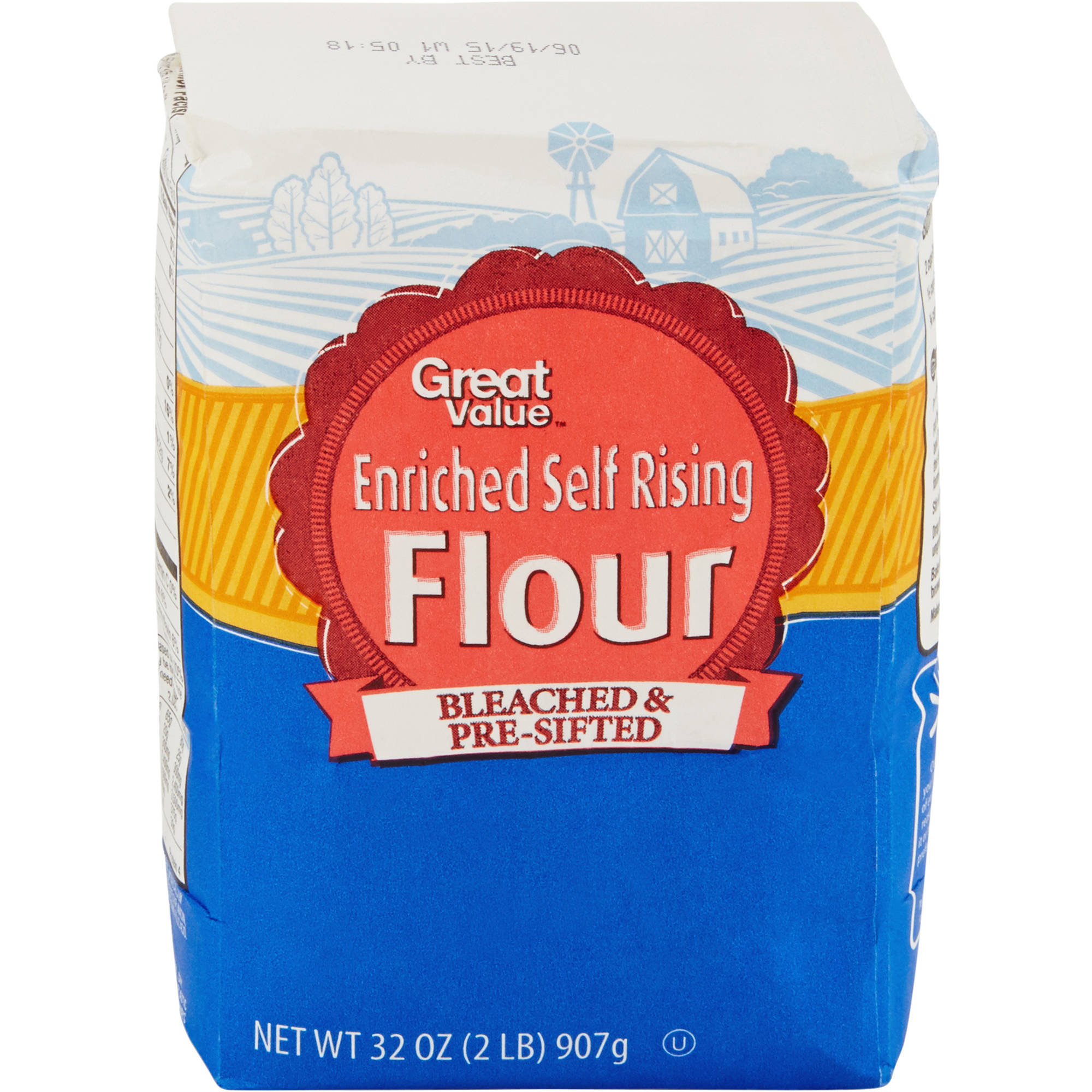 Great Value Self Rising Flour, 32 oz