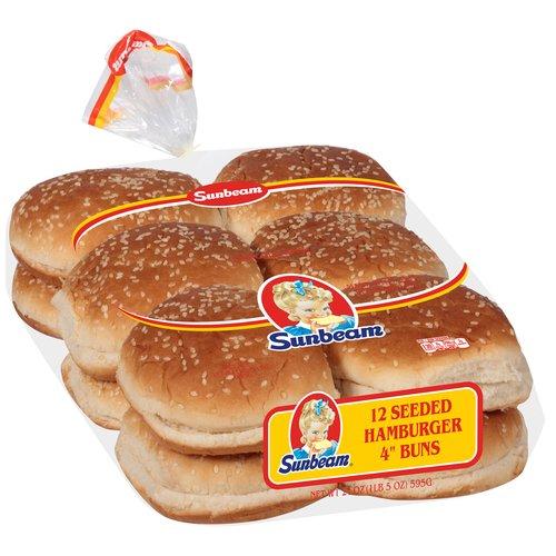 Sunbeam® Hamburger Buns 21 oz. Pack