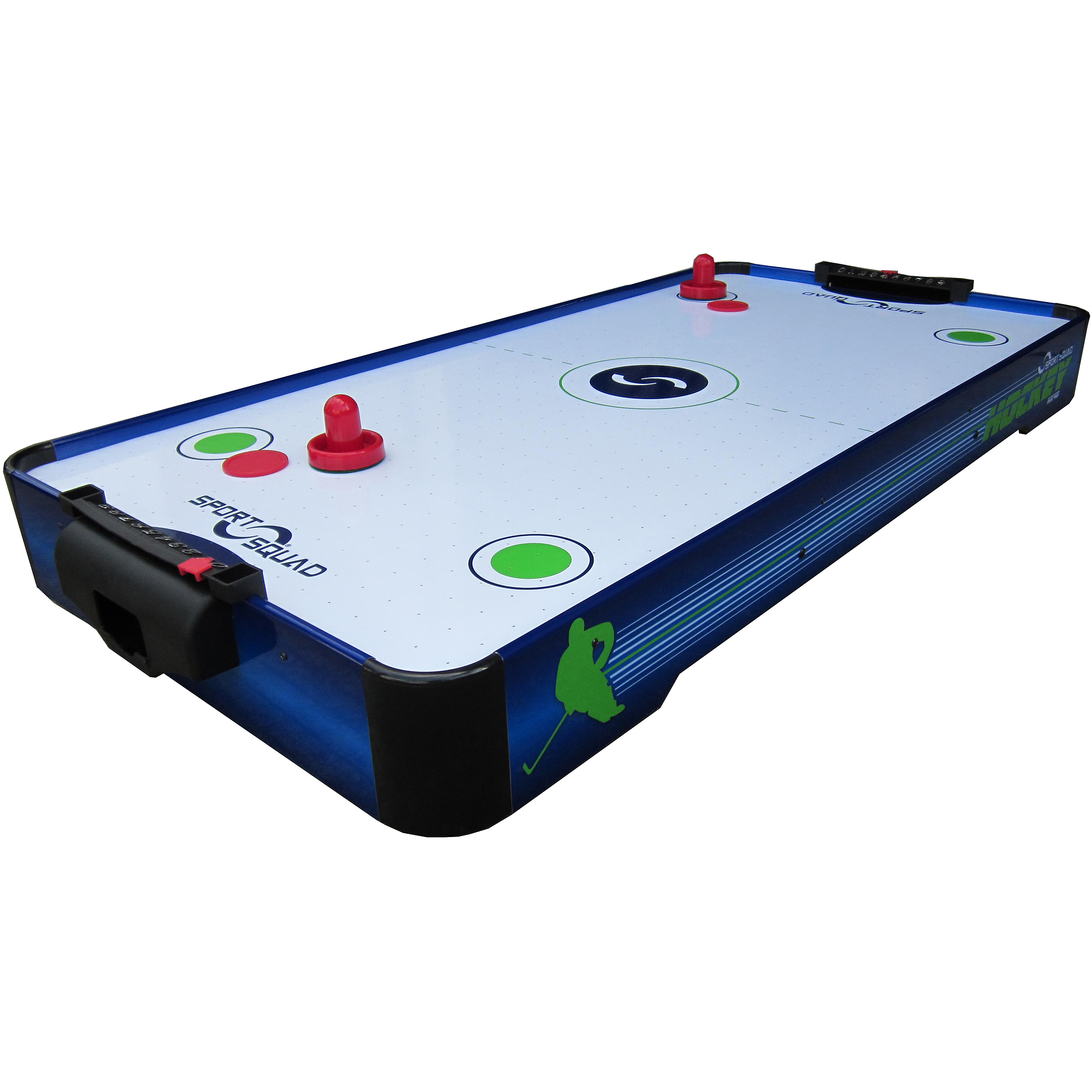 Sport Squad HX40 Electric Powered Air Hockey Conversion Top, 3.3', Blue