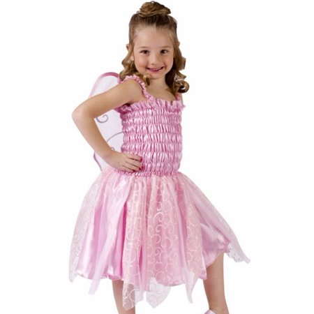 Fun World Girls Cute Pink Fairy Ballerina Kids Halloween Costume