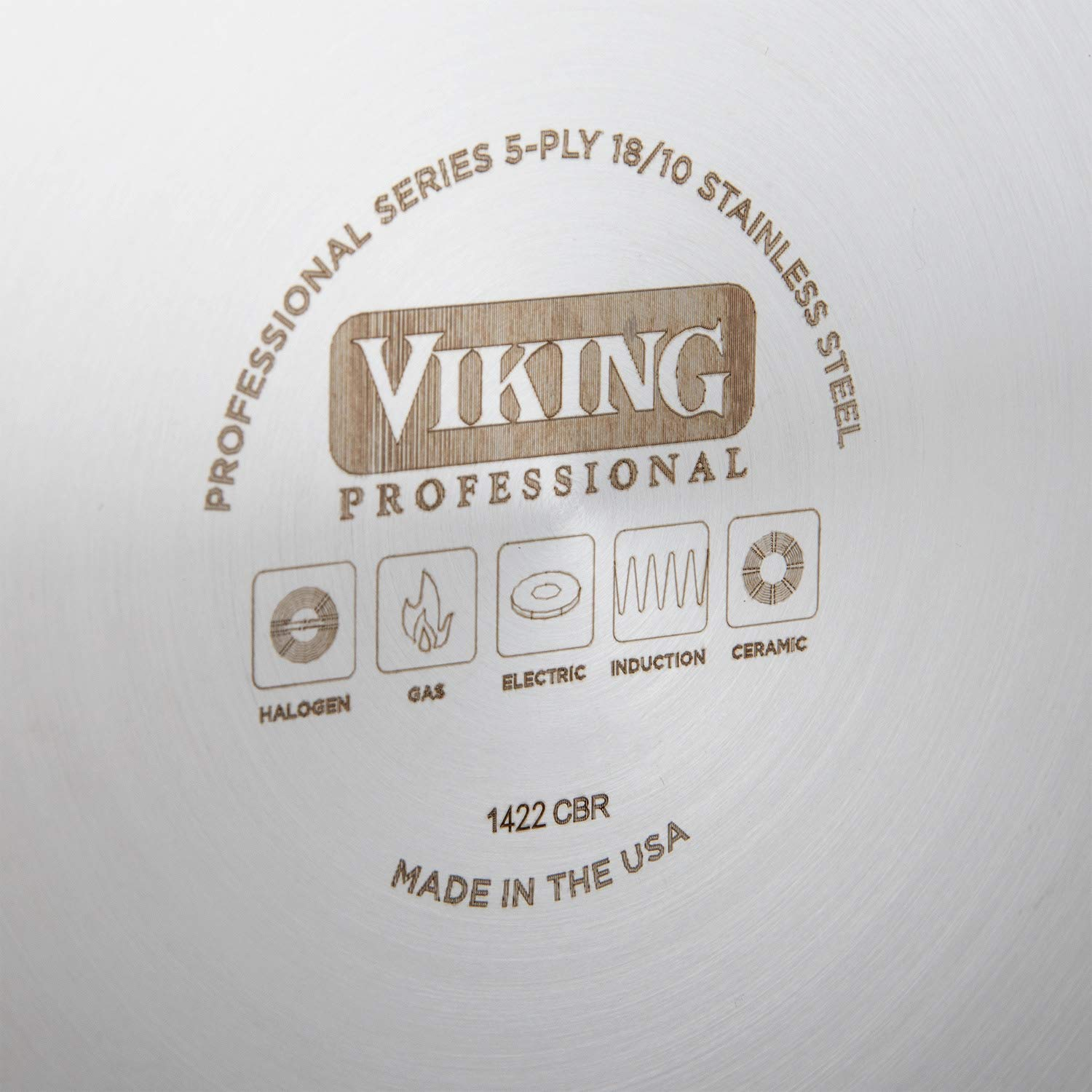 Viking Professional 5-Ply Stainless Steel Nonstick Fry Pan 8 Inch