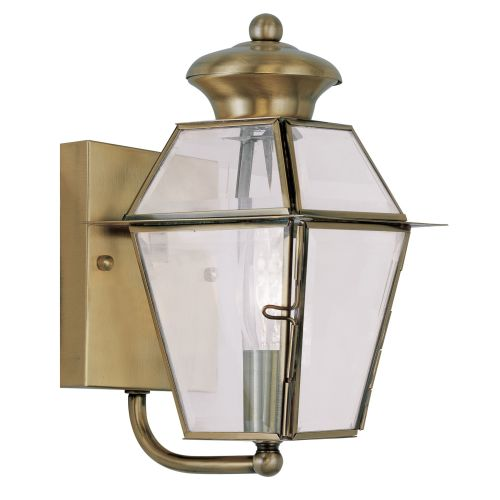 Livex Lighting 2180 Westover Small Outdoor Wall Sconce with 1 Light