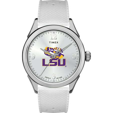 LSU Tigers Louisiana State Ladies Silcone Athena Watch