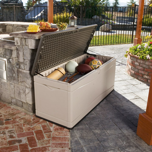 Lifetime 130-Gallon Deck Box, 60012