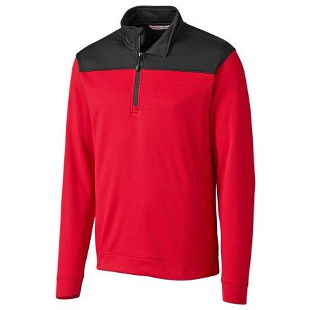 Cutter & Buck Men's Half Zip Fleece Pullover Cutter & Buck Golf Pullover