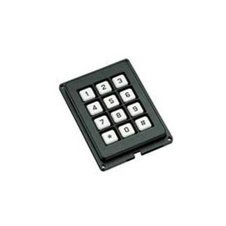 GRAYHILL 86AB2-103 86 Series 12 Key Terminal Pins 10 mA 24 VDC Keypad - 1 (Pink Keypad)