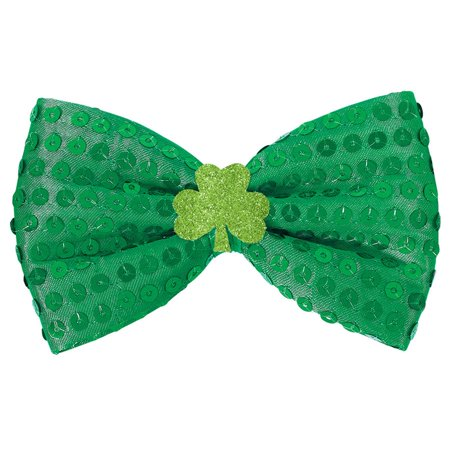 St. Patrick's Day Adult Bowtie Choker](Horrifying Halloween Pics)