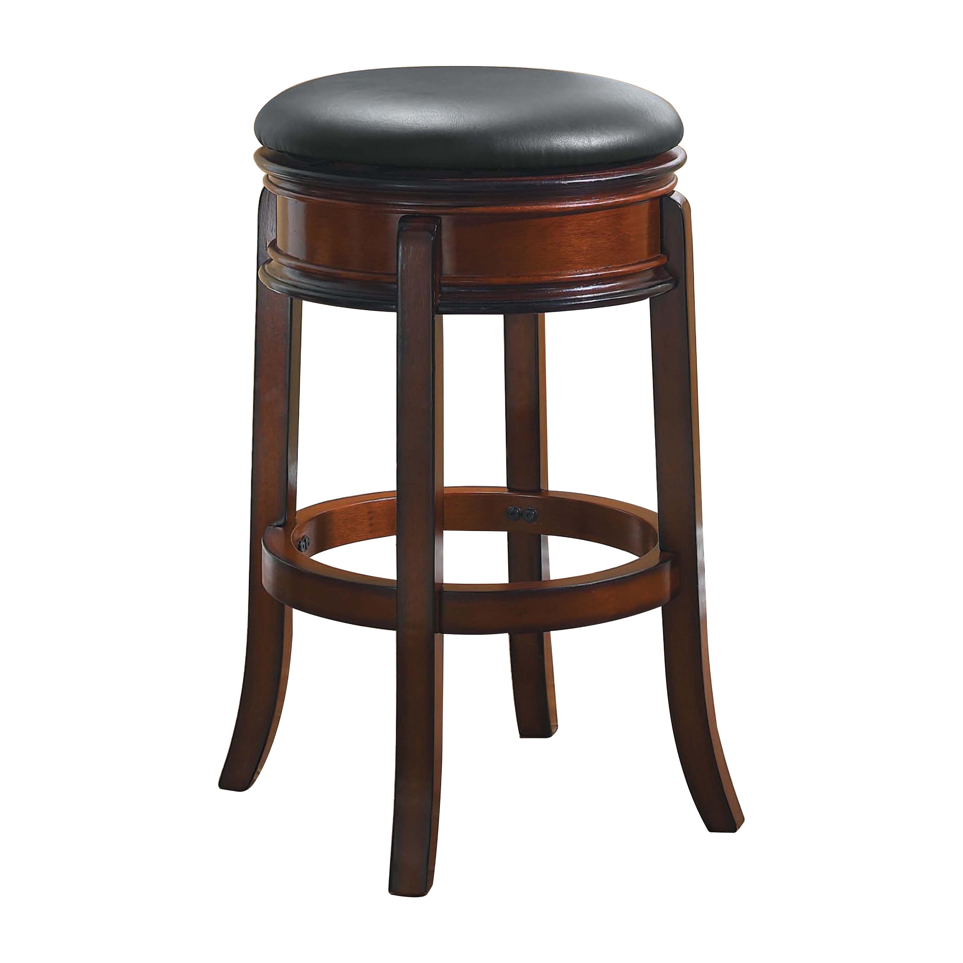 Boraam Magellan 29 in. Backless Swivel Bar Stool - Brandy