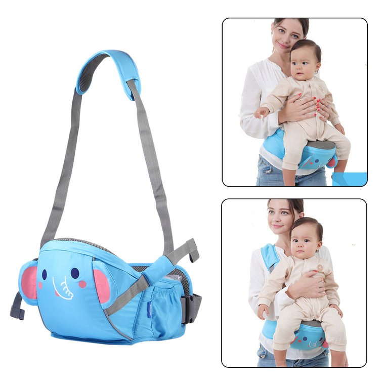iCoco Comfortable Baby Waist Stool Multifunctional Front Facing Baby Carrier Sling