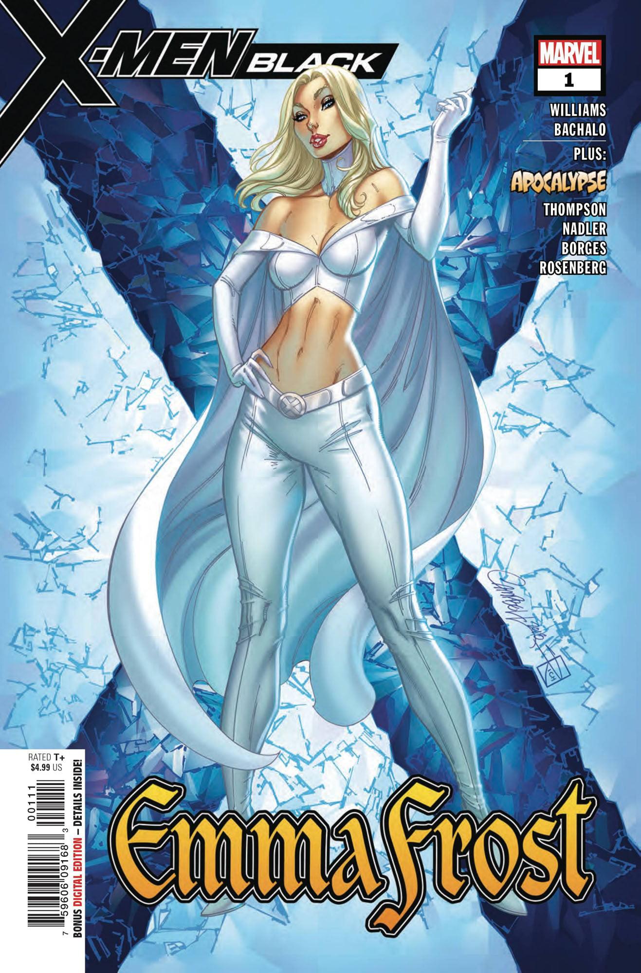 Marvel X-Men Black #1 Emma Frost by