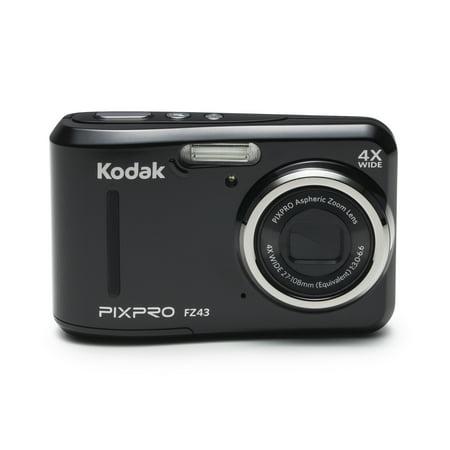 Kodak Pixpro Fz43 Compact Digital Camera   16Mp 4X Optical Zoom Hd 720P Video  Black