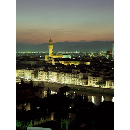 City Skyline at Night, Florence, Tuscany, Italy Print Wall Art By Lee Frost](Party City Florence)